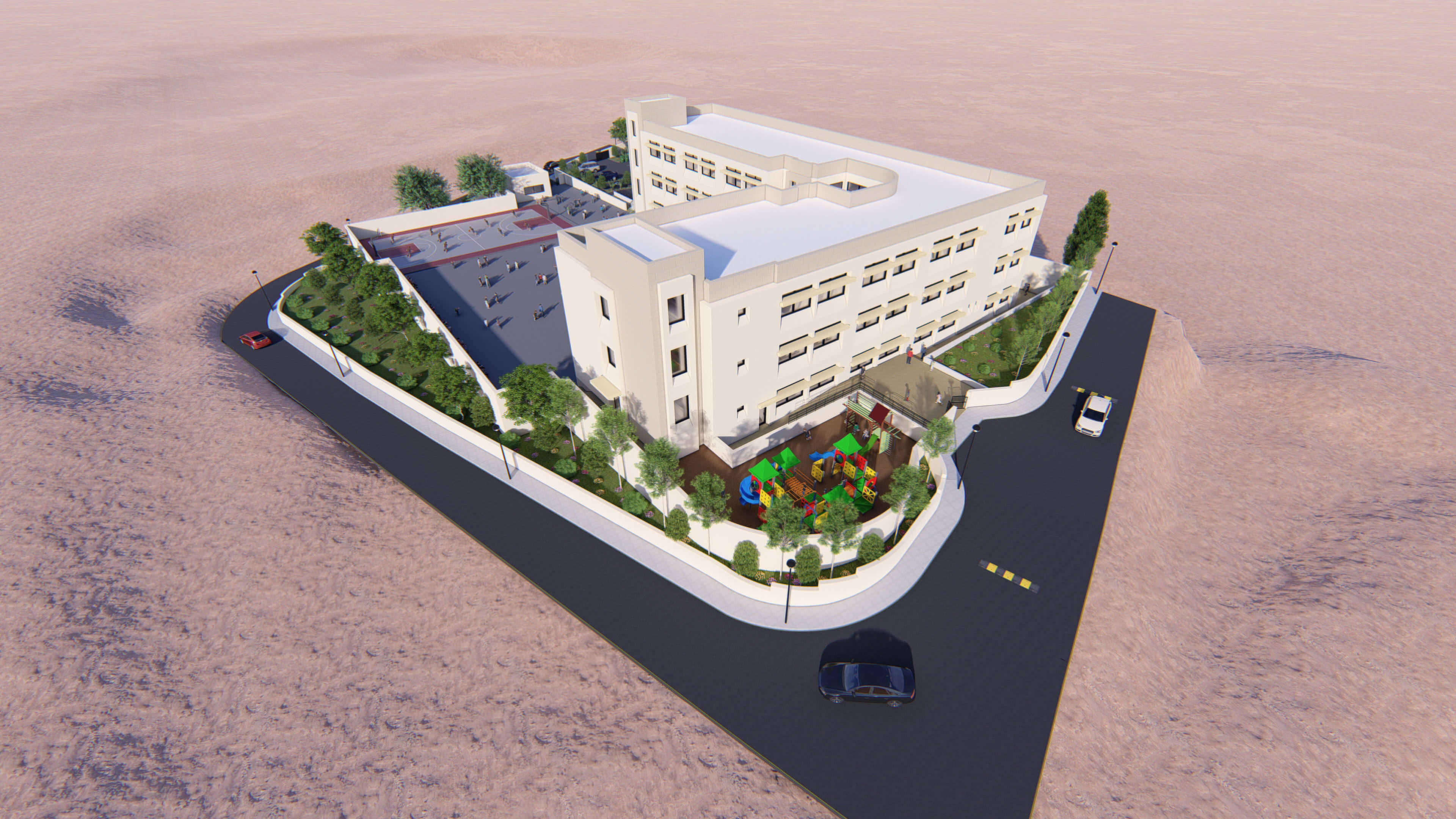 Al-Bayadah Secondary School for Girls in Irbid